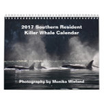 Calendario residente meridional de la orca 2017