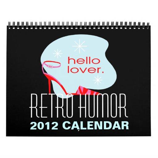 Calendario retro del humor
