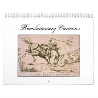 Calendario revolucionario de los dibujos animados