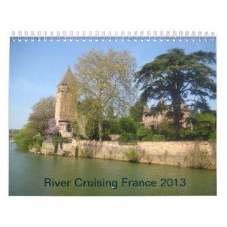 CALENDARIO - río Francia que cruza 2013