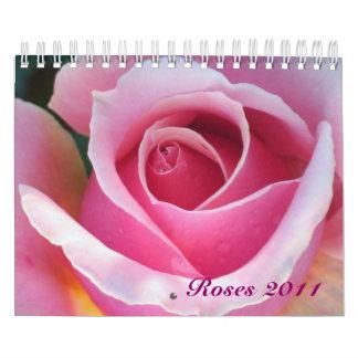 Calendario romántico de los rosas 2011