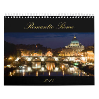 Calendario romántico de Roma 2011