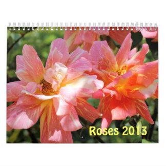 CALENDARIO - rosas hermosos 2013