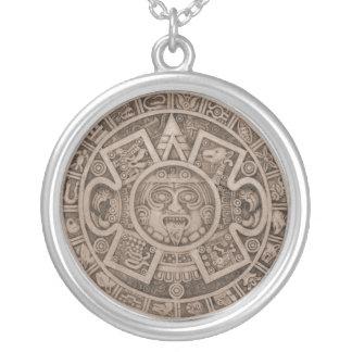 Calendario Round Pendant Necklace