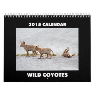 Calendario salvaje 2015 de los coyotes