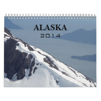 Calendario salvaje de 2014 Alaska