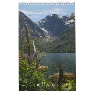 Calendario salvaje de la naturaleza 2011