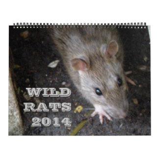 Calendario salvaje de las ratas 2014