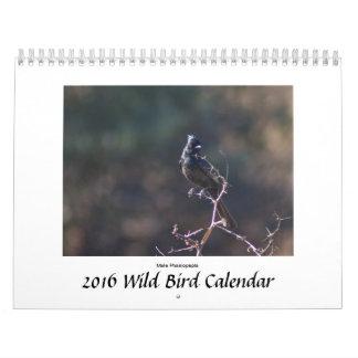 Calendario salvaje de los pájaros
