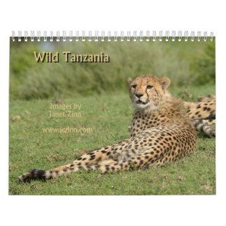 Calendario salvaje de Tanzania 2015