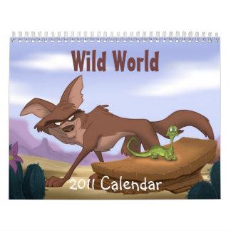 Calendario salvaje del mundo 2011