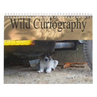 Calendario salvaje del perro de Curiography