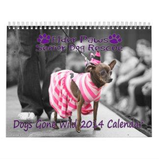 Calendario salvaje ido perros 2014