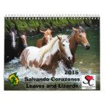 Calendario Salvando Corazones 2015 de la