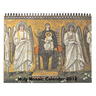 Calendario santo 2012 del mosaico