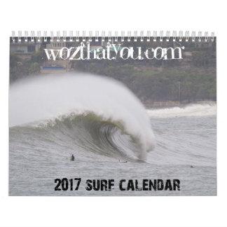 Calendario septentrional de la resaca de 2017