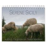 Calendario sereno de Sicilia 2010