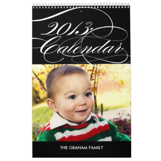 Calendario simplemente magnífico 2013 de la foto