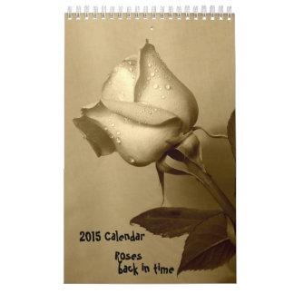 Calendario subió 2015 - trasero a tiempo