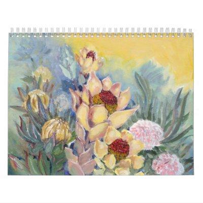 Calendario surafricano del tema
