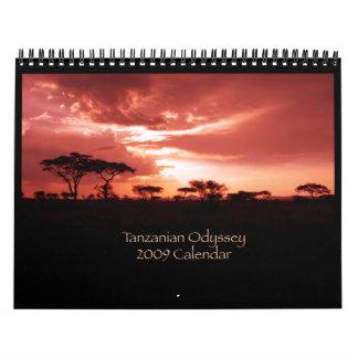Calendario tanzano de la odisea