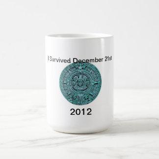 Calendario taza maya del 21 de diciembre de 2012