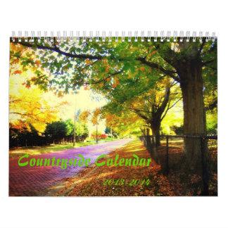 Calendario temático del campo