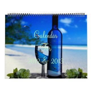 Calendario temático del enero de 2012 a diciembre