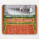 Calendario temprano para el Londres al ferrocarril Tapete De Ratón
