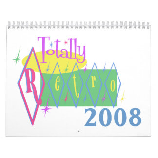 Calendario totalmente retro