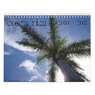 Calendario tropical 2010 - 2011 de Costa Rica