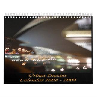 Calendario urbano 08-09 de los sueños