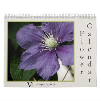 Calendario v.2 de la flor