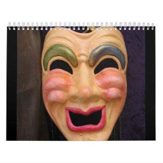 Calendario veneciano de las máscaras