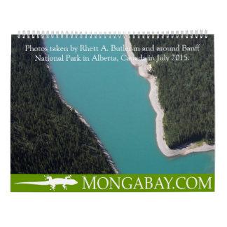 CALENDARIO: Verano en Banff, los Rockies Calendarios De Pared