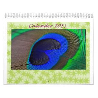 Calendario verde fresco