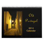 Calendario viejo 2014 de Portugal