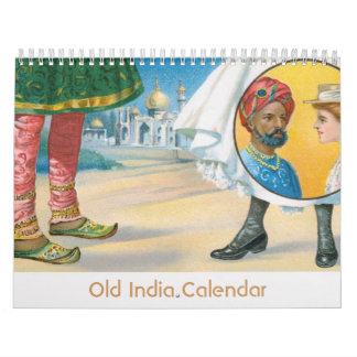 Calendario viejo de la India