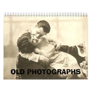 Calendario VIEJO de las FOTOGRAFÍAS