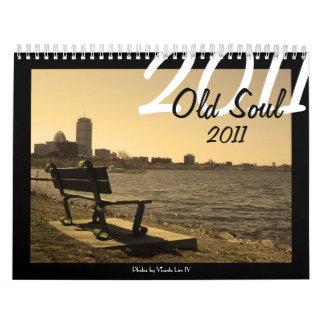 Calendario viejo del alma 2011