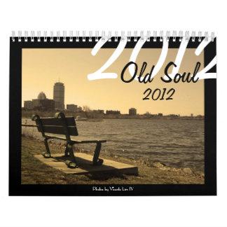 Calendario viejo del alma 2012