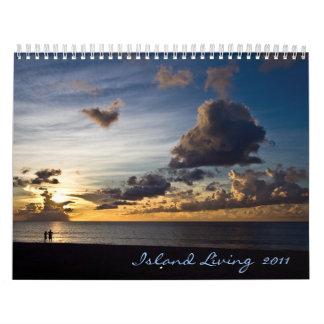 Calendario vivo 2011 de la isla