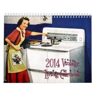 Calendario vivo 2014 del vintage