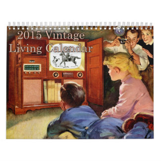 Calendario vivo 2015 del vintage