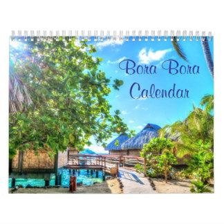 Calendarios de pared de Bora Bora