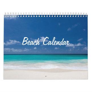 Calendarios de pared de la playa
