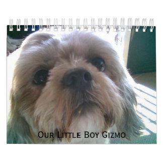 Calendarios del perro - modificados para requisito