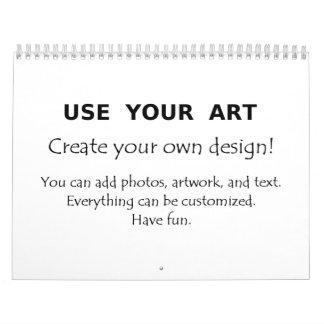 Calendarios del personalizado 2013 con su arte o