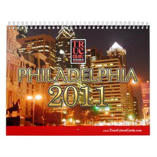 Calendarios - Philadelphia 2011