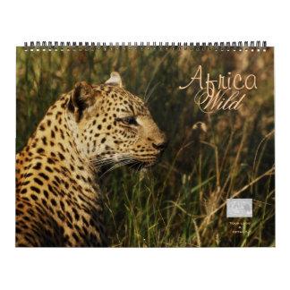 Calendarios salvajes 2011 de África - enormes y ad